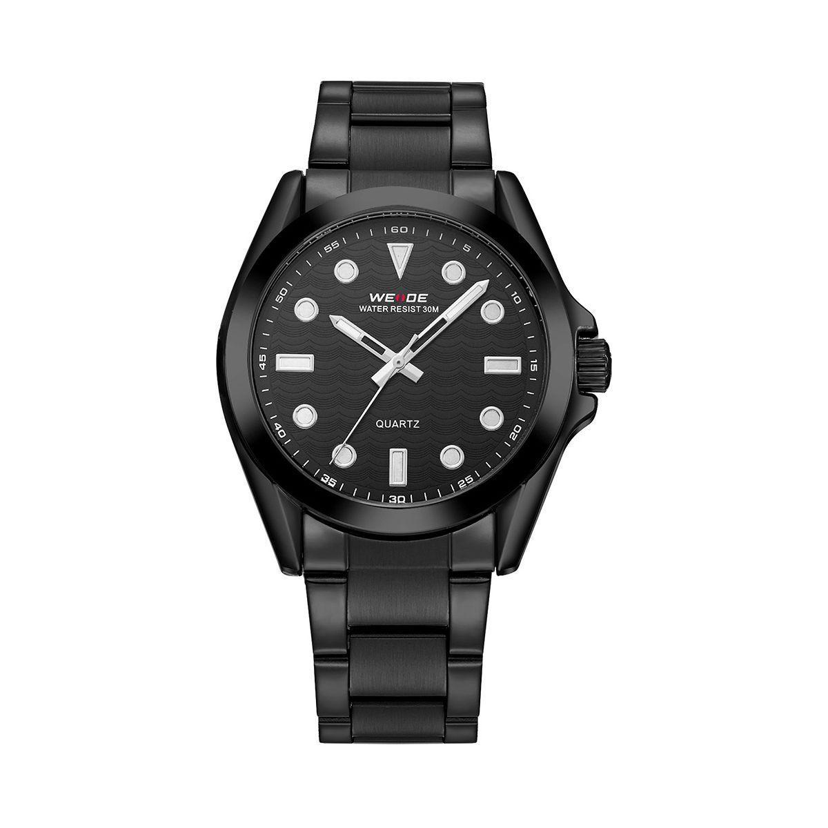 Часы наручные Weide All Black WH802B-1C SS