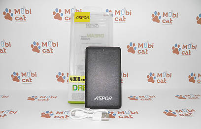 Внешний аккумулятор (Power Bank) Aspor A371 Powerbank 4000mah