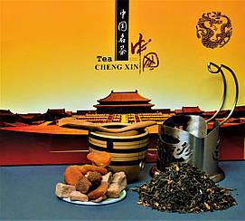 Подарочный набор элитных видов китайского чая 10 шт по 5 гр.