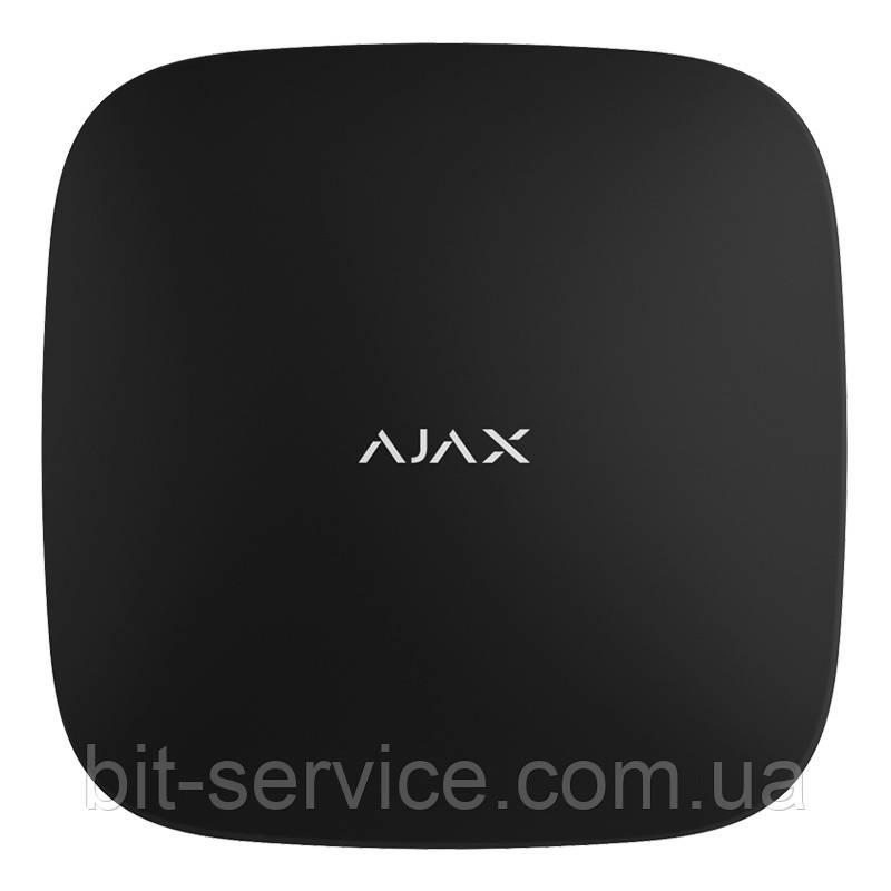 Ajax Hub – Інтелектуальна централь – чорна/біла