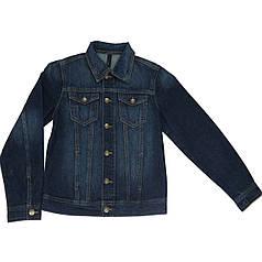 Куртка джинсовая United Colors of Benetton 2CFU53360 150 см Синий (8031894836804)