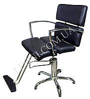 Кресло парикмахерское для салонов красоты черного цвета