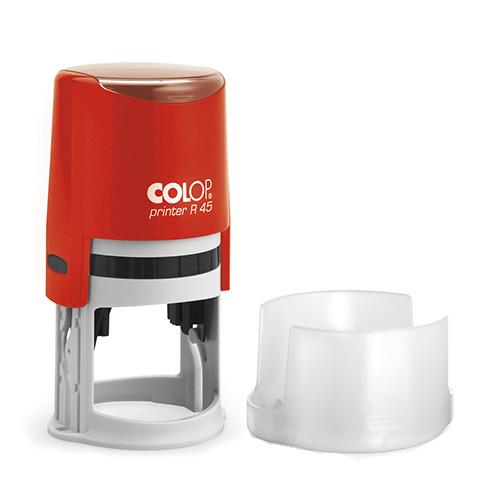 Оснастка для круглой печати Printer R45 красный