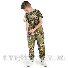 Детские брюки Скаут камуфляж MTP