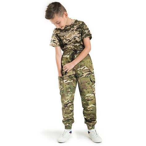 Детские брюки Скаут камуфляж MTP, фото 2