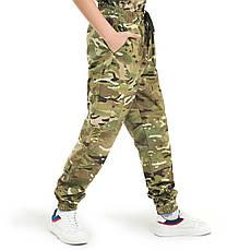 Детские брюки Скаут камуфляж MTP, фото 3