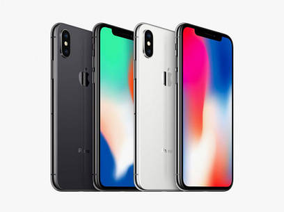 Apple iPhone X 64Gb (Space Gray, White)