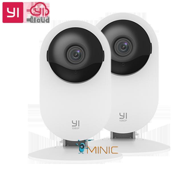 Комплект камер видеонаблюдения IP-камера Yi Home Camera 1080p (2 шт, международная версия)