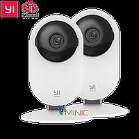 Комплект камер видеонаблюдения IP-камера Yi Home Camera 1080p (2 шт, международная версия), фото 1