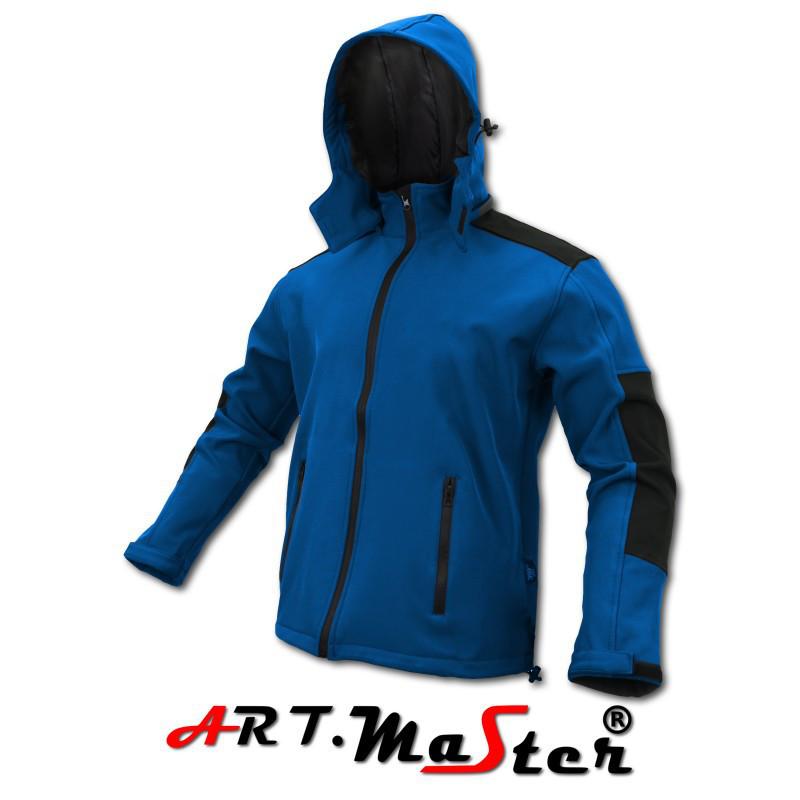 Куртка защитная зимняя ARTMAS синего  цвета Kurtka Softshell CLASSIC Blue