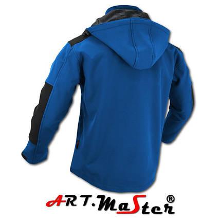 Куртка защитная зимняя ARTMAS синего  цвета Kurtka Softshell CLASSIC Blue, фото 2
