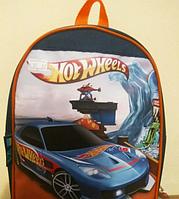 "Рюкзак детский  "" Хот Вилс ( Hot Wheels  cars ) "" Размер: 27х20х8 см."