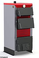 Котел твердотопливный длительного горения универсальный трехдверный ЭКО Line TT-15 *ProTech
