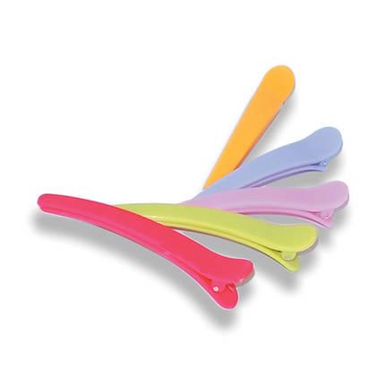 Зажимы для стрижки волос пластмассовые (10шт)SPL 964087 , фото 2
