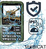 Защищенный противоударный и водонепроницаемый телефон TELE1 T34 IP67