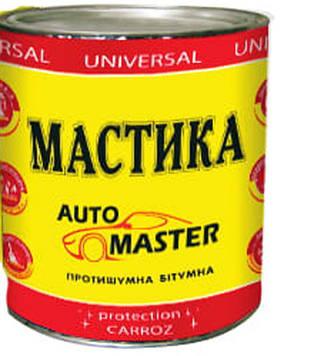Мастика 0,9кг битумная Автомастер