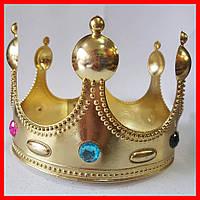 Корона Короля золотая, фото 1