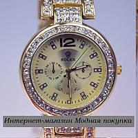 Женские часы Rolex Gold R6988, фото 1