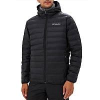 Мужская куртка Columbia LAKE 22™ DOWN HOODED JACKET черная 1737891-010 214fb32aef2