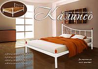 Ліжко коване в спальню Каліпсо (асим) Метал-дизайн