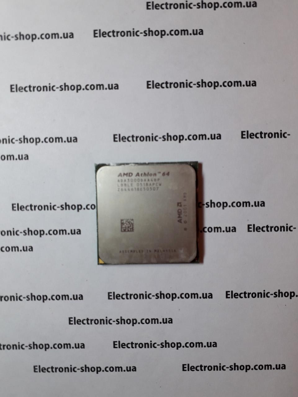 Процессор   AMD athlon64 ADA 3000DAA4BP   оригинал б.у
