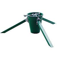 Подставка для елки складная МеталлМастер с ёмкостью для воды Зеленая (ПДЕ-С), фото 1