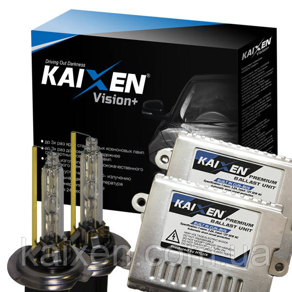 Комплект ксенона KAIXEN H7 4300K Vision+ (3800Lm) с CAN BUS
