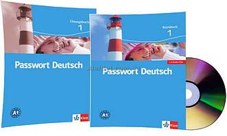 Немецкий язык / Passwort Deutsch / Kursbuch+Übungsbuch+CD. Учебник+Тетрадь (комплект с диском), 1 / Klett