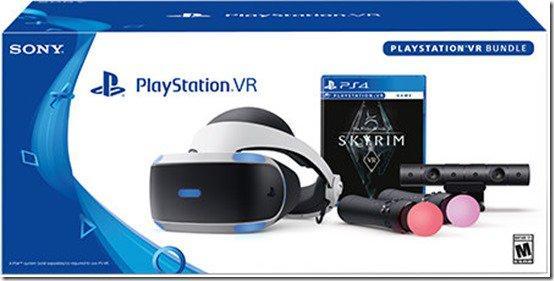 Очки виртуальной реальности Sony PlayStation VR + PlayStation Camera + PlayStation Move