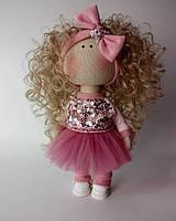 Текстильная кукла ручной работы Эмили