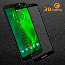 Защитное стекло Mocolo Full Glue для Motorola Moto G6 Play черный
