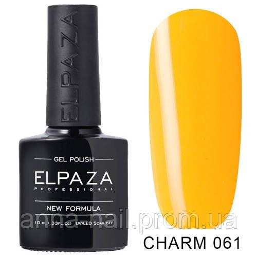 Гель лак ELPAZA CHARM 061 Апероль 10 мл
