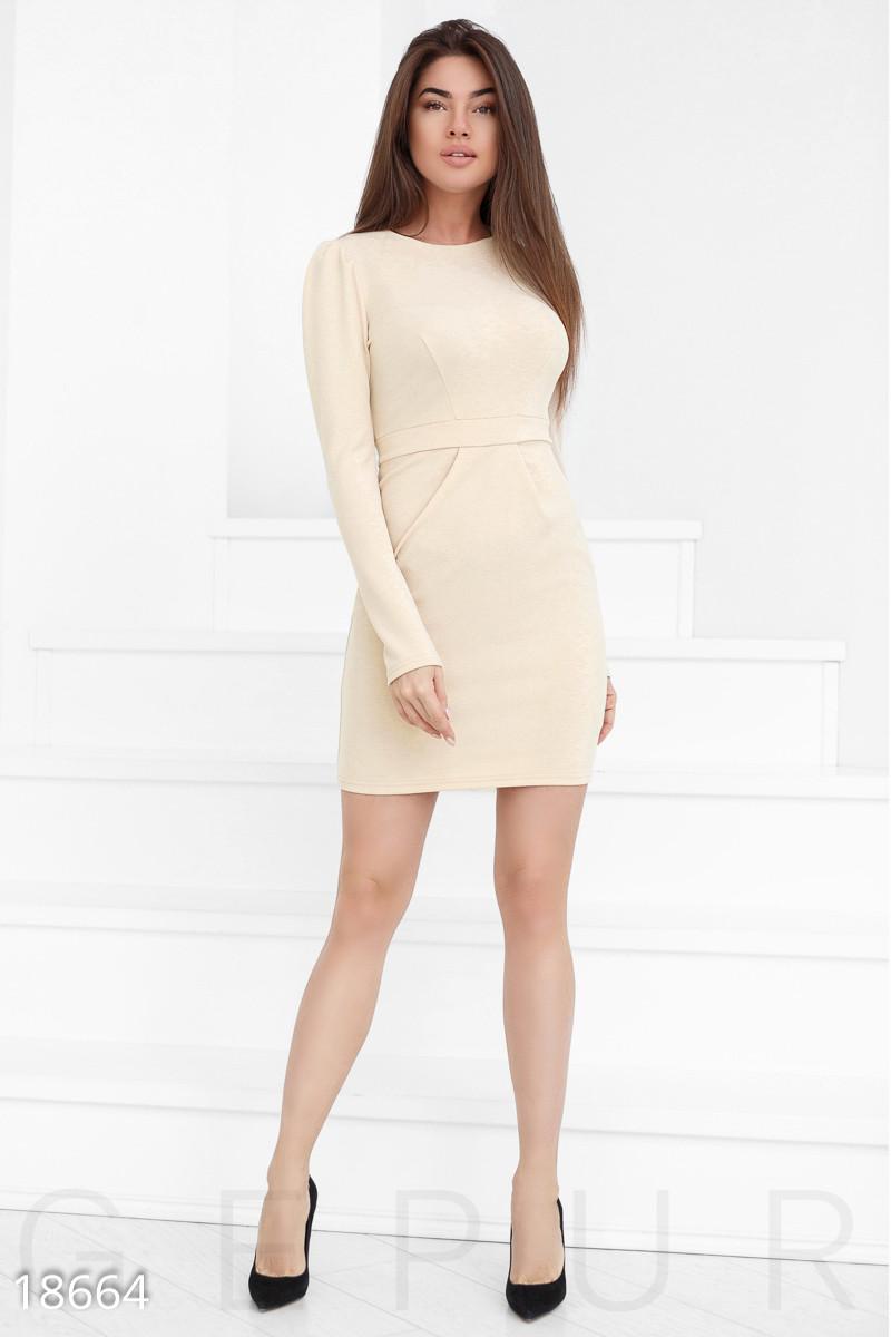 5c30126297c23ba Трикотажное платье-футляр - Модная одежда, обувь и аксессуары интернет- магазин BeModa.