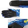 Перчатки лыжные сенсорные Синие, фото 3
