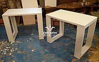 Маникюрный стол с оригинальными ножками  Модель V296 белый