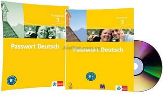 Немецкий язык / Passwort Deutsch / Kursbuch+Übungsbuch+CD. Учебник+Тетрадь (комплект с диском), 3 / Klett