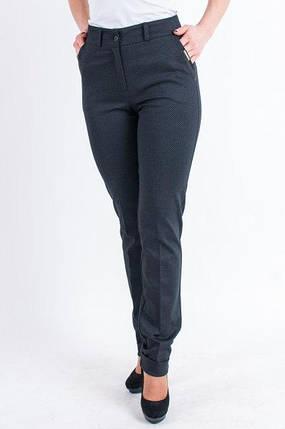 """Трикотажні брюки з манжетами """"Риму"""" чорні, фото 2"""