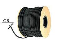 Резинка тента (эспандер) в защитной оплётке Ø 8 для тента, на прицеп зерновоз, фуру