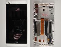Оригинальный дисплей (модуль) + тачскрин (сенсор) с белой рамкой для HTC Desire 626 626G 626W (черный цвет)