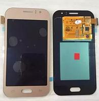 Дисплей модуль+тачскрин (сенсор) Samsung Galaxy J1 Ace J110F J110G J110H J110L (золотой, яркость регулируется)