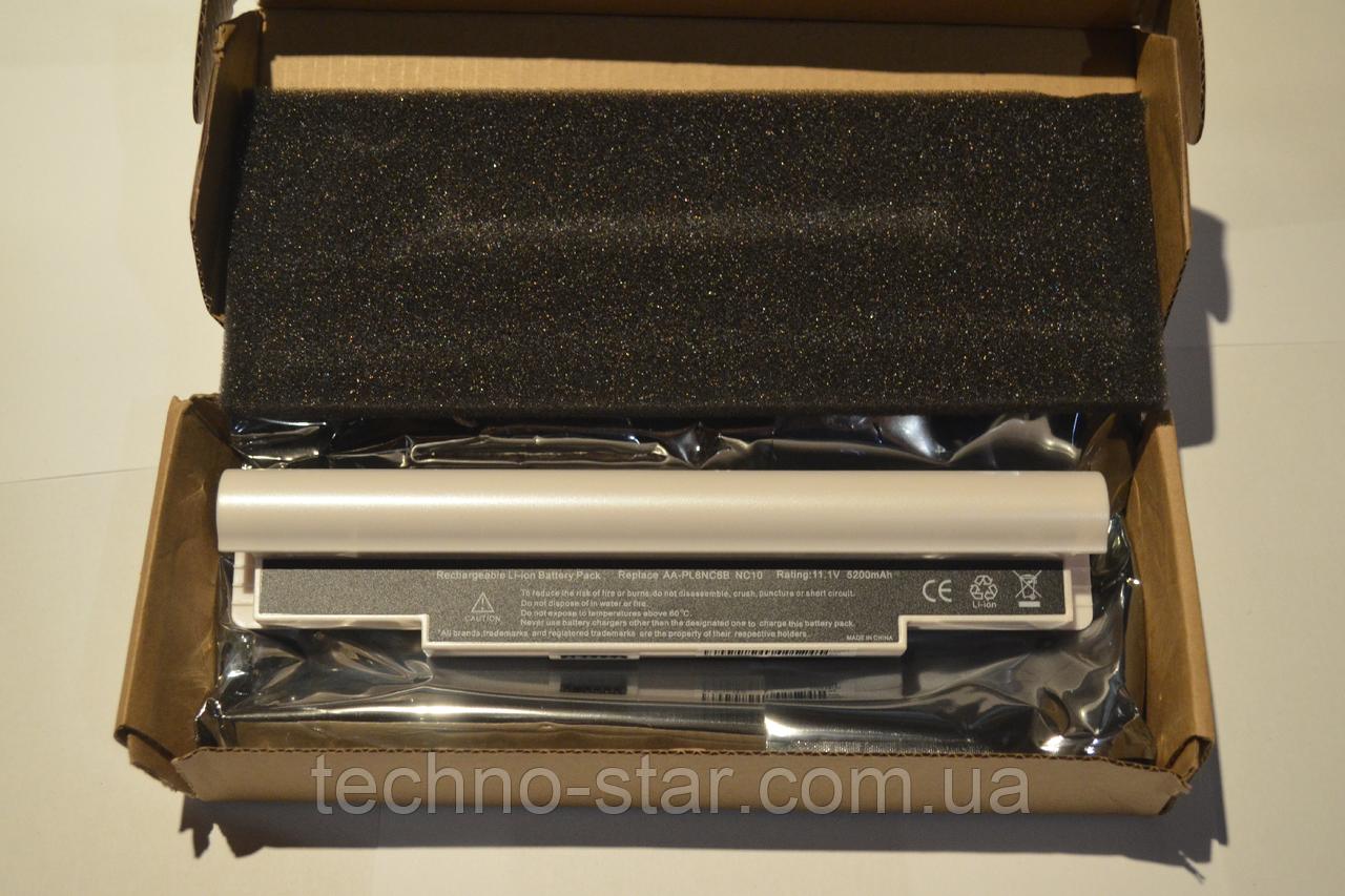 Аккумулятор Samsung AA-PL8NC6B AA-PB6NC6E AA-PB8NC8B NC10 NC20 N110 N120 ND20 N130 (белый цвет)