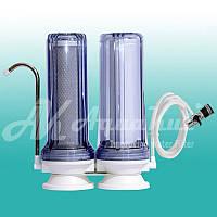 Очистка питьевой воды Фильтр на мойку двухступенчатый FN-2