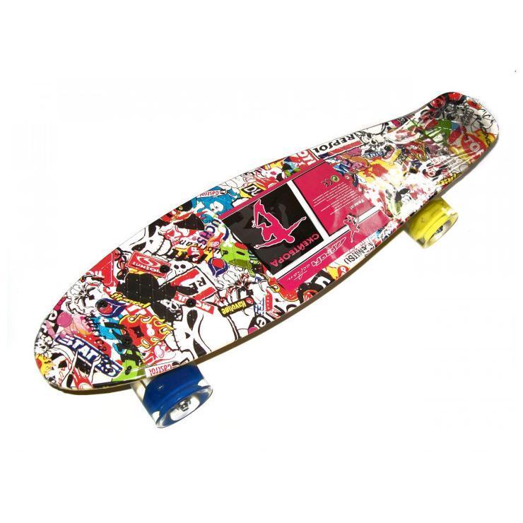 Скейт Penny Board MS 0748-3 7 цветов, фото 1