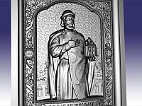 Икона резная Святой Ярослав