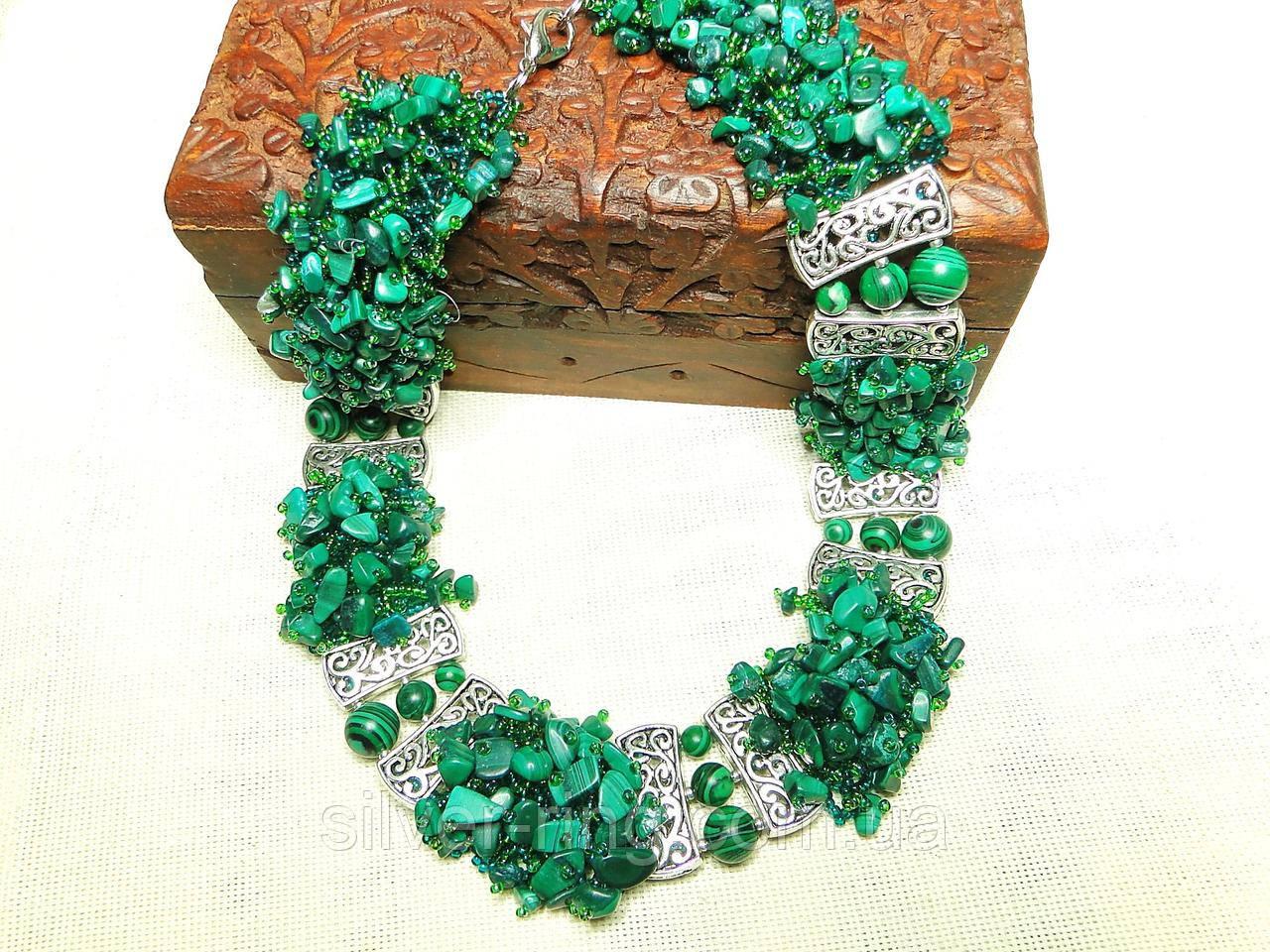 Малахитовое ожерелье