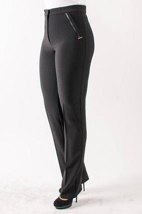 Женские брюки Нона, черный, фото 2