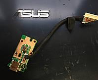 Разъём питания и кнопка включения питания ноутбука Asus u52k б/у оригинал