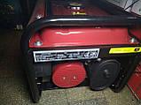 Генератор бензиновый 3-х фазный Германия Powertech PT6500W 4,5 кв (220\380) вт, фото 6