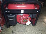 Генератор бензиновый 3-х фазный Германия Powertech PT6500W 4,5 кв (220\380) вт, фото 7