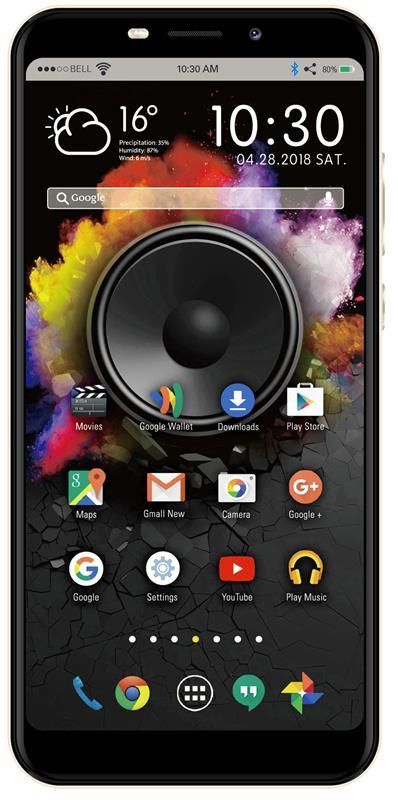 Смартфон Nomi i5710 Infinity X1 Dual Sim Gold